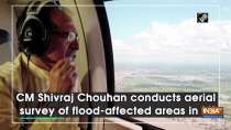 CM Shivraj Chouhan conducts aerial survey of flood-affected areas in MP