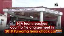 NIA team reaches court to file chargesheet in 2019 Pulwama terror attack case