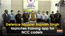 Defence Minister Rajnath Singh launches training app for NCC cadets