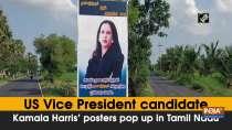 US Vice President candidate Kamala Harris