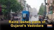 Rains lashes parts of Gujarat