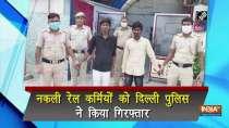 Delhi Police arrest 2 men for posing railway employees