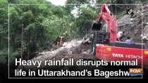Heavy rainfall disrupts normal life in Uttarakhand