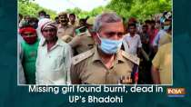Missing girl found burnt, dead in UP