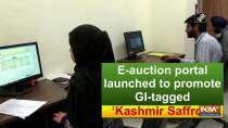 E-auction portal launched to promote GI-tagged