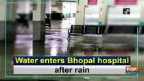 Water enters Bhopal hospital after rain
