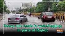 Heavy rain leads to waterlogging in parts of Rajkot