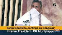 Sonia Gandhi to continue as Congress