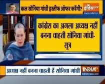 Video: Sonia Gandhi may resign as Congress President