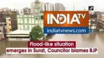 Flood-like situation emerges in Surat, Councilor blames BJP