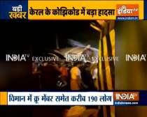 Watch Video: Air India Express plane crash at Karipur Airport in Kozhikode