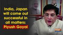 India, Japan will come out successful in all matters: Piyush Goyal
