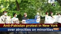 Anti-Pakistan protest in New York over atrocities on minorities