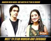 Mohsin Khan, Shivangi Joshi on shooting for Yeh Rishta Kya Kehlata Hai amid new normal