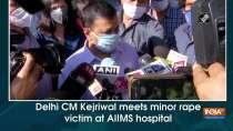 Delhi CM Kejriwal meets minor rape victim at AIIMS hospital