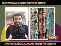 Surbhi Chandna and Sharad Malhotra on Naagin 5