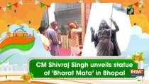 CM Shivraj Singh unveils statue of