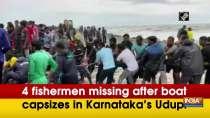 4 fishermen missing after boat capsizes in Karnataka