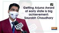 Getting Arjuna Award at early state is big achievement: Saurabh Chaudhary
