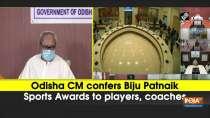 Odisha CM confers Biju Patnaik Sports Awards to players, coaches
