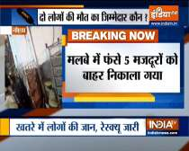 Two dead in Noida building collapse