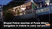 Bhopal Police reaches at Pyare Mian