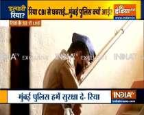 Sushat Death Case: Mumbai Police reach Rhea Chakraborty