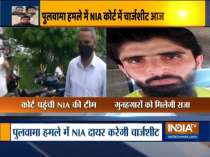 National Investigation Agency team reaches NIA court to file a chargesheet in 2019 Pulwama terror attack