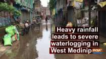 Heavy rainfall leads to severe waterlogging in West Medinipur