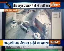 Srinagar: Truck rolls over car on Jammu highway; 2 dead
