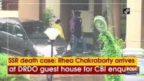 SSR death case: Rhea Chakraborty arrives at DRDO guest house for CBI enquiry