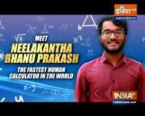 Neelakantha Bhanu Prakash wins 'World's Fastest Human Calculator' title