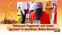 Patanjali Yogpeeth will make