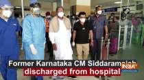 Former Karnataka CM Siddaramaiah discharged from hospital