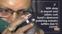 With drop in export and salary cuts Surat