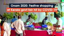 Onam 2020: Festive shopping at Kerala govt fair hit by COVID-19