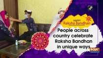 People across country celebrate Raksha Bandhan in unique ways