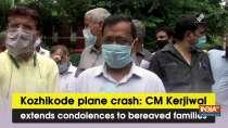 Kozhikode plane crash: CM Kerjiwal extends condolences to bereaved families