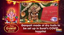 Ganpati made of dry fruits to be set up in Surat