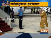 PM Modi leaves for Ayodhya to take part in Ram Temple