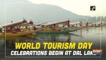 World Tourism Day celebrations begin at Dal Lake