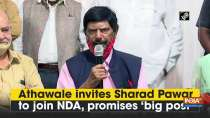 Athawale invites Sharad Pawar to join NDA, promises
