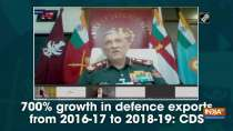 700% growth in defence exports from 2016-17 to 2018-19: CDS
