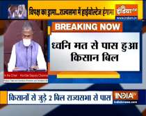 Farm Bills passed in Rajya Sabha amid protest by Opposition