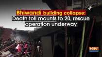 Bhiwandi building collapse: Death toll mounts to 20, rescue operation underway