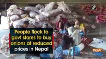 People flock to govt stores to buy onions at reduced prices in Nepal