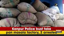 Kanpur Police bust fake pan masala factory, 2 arrested
