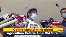 Centre should think about Agriculture Reform Bills: CM Soren