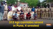 312 kgs cannabis seized in Pune, 4 arrested