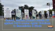 Protest outside UN against Pak